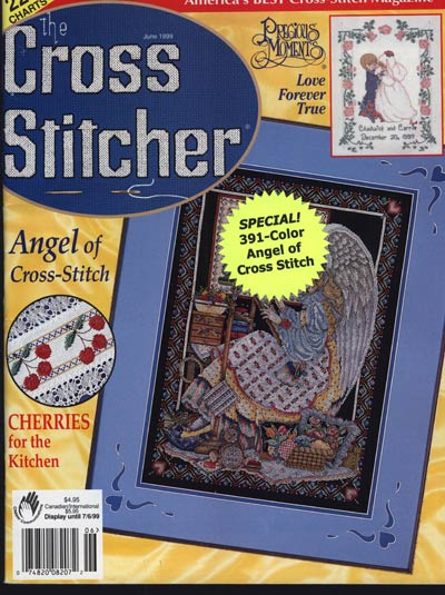 The Cross Stitcher June 1999 Cross Stitch Magazine