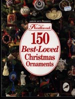 McCall's Needlework 150 Best Loved Christmas Ornaments Cross Stitch