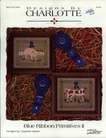Blue Ribbon Primitives II Cross Stitch