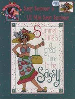 Sassy Summer and Lil Miss Sassy Summer Cross Stitch