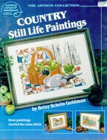 Country Still Life Paintings Cross Stitch