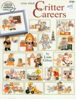 Critter Careers Cross Stitch