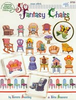 50 Fantasy Chairs Cross Stitch
