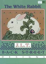 J.L.T. The White Rabbit Cross Stitch