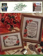 Poetry of Love Cross Stitch