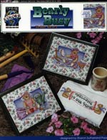 Bearly Busy Teddy Bears Cross Stitch