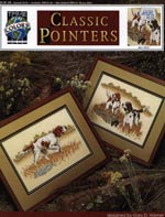 Classic Pointers Cross Stitch