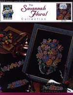 The Savannah Floral Collection Cross Stitch