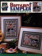 Barnyard Sampler Cross Stitch