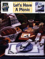 Let's Have A Picnic Cross Stitch
