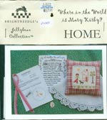 Where in the World is Mary Kirby  -  Home Cross Stitch