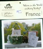 Where in the World is Mary Kirby  -  France Cross Stitch