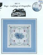 Bugz - Ladybugs and Dragonflies Cross Stitch