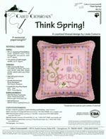 Think Spring Cross Stitch