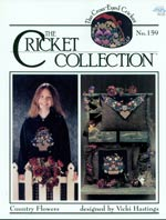 Country Flowers Cross Stitch