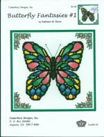 Butterfly Fantasies 1 Cross Stitch