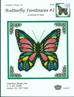 Butterfly Fantasies 2 Cross Stitch