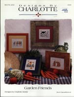 Garden Friends Cross Stitch