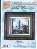 Herb Window Cross Stitch