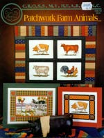 Patchwork Farm Animals Cross Stitch