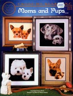 Moms And Pups Cross Stitch