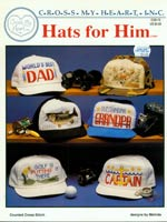 Hats For Him Cross Stitch