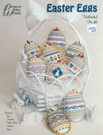 Easter Eggs Unlimited Cross Stitch