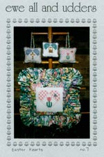 Easter Hearts Cross Stitch