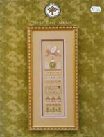 Angel Hare Garden Cross Stitch