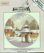 The John Clayton Collection - Winter Village Cross Stitch