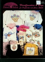 Flora Sweaters and Bags  Cross Stitch