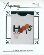 Hoops Sweatshirt Cross Stitch