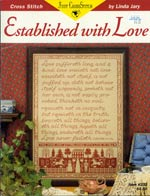 Established With Love Cross Stitch