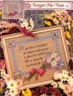 In A Garden Cross Stitch