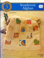 Southwest Afghan Cross Stitch