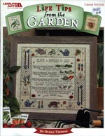 Life Tips From The Garden Cross Stitch