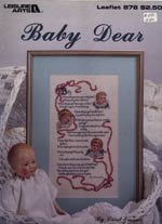 Baby Dear Cross Stitch