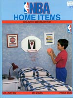 NBA Home Items Cross Stitch