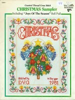 Christmas Sampler, including Joys of the Season Bell Pull Cross Stitch
