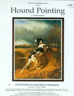 Hound Pointing by Constant Troyon Cross Stitch