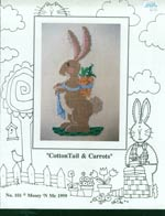 CottonTail and Carrots Cross Stitch