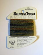 Rainbow Gallery Rainbow Tweed RT64 Country Garden Cross Stitch