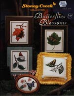 Butterflies and Blossoms Cross Stitch