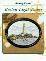 Boston Light Tower Cross Stitch