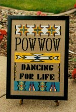 Powwow Cross Stitch