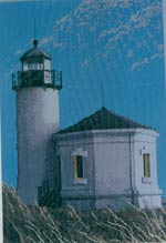 Bandon Lighthouse Cross Stitch