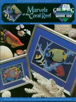 Marvels of the Coral Reef Cross Stitch