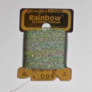 Rainbow Blending Thread: Pink Flame  Cross Stitch