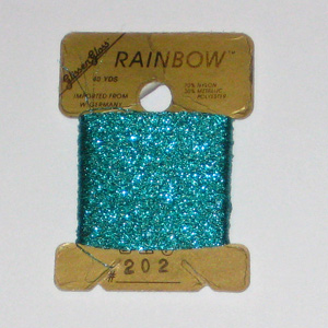 Rainbow Blending Thread: Light Teal Green  Cross Stitch