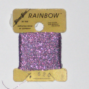 Rainbow Blending Thread: Grey Pink  Cross Stitch